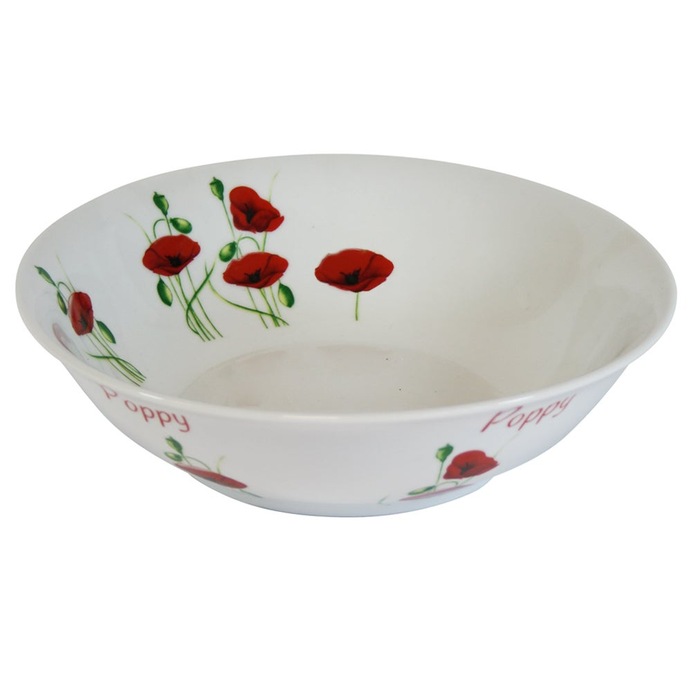 Poppy Collection Pasta Bowl