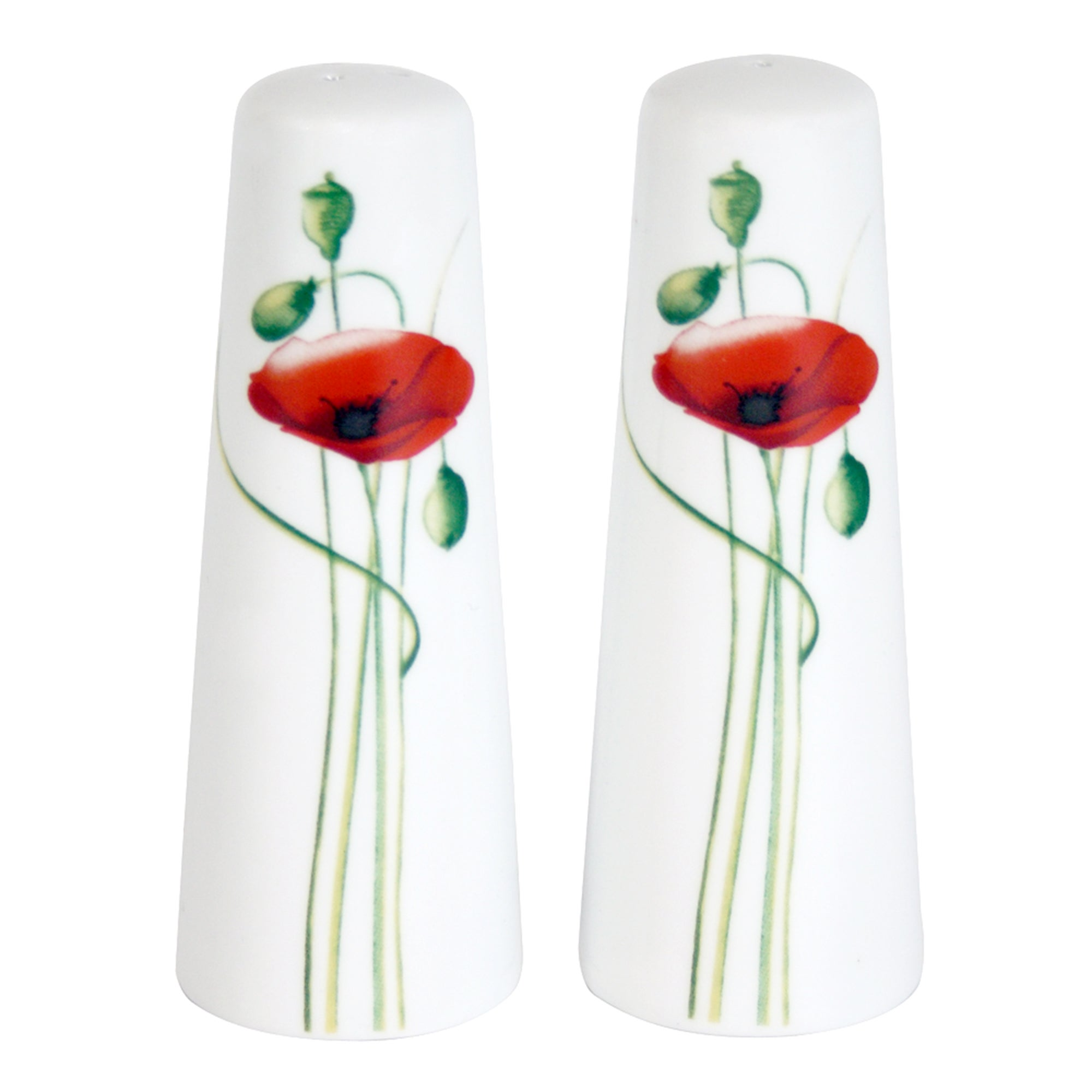 Poppy Collection Salt and Pepper Pots