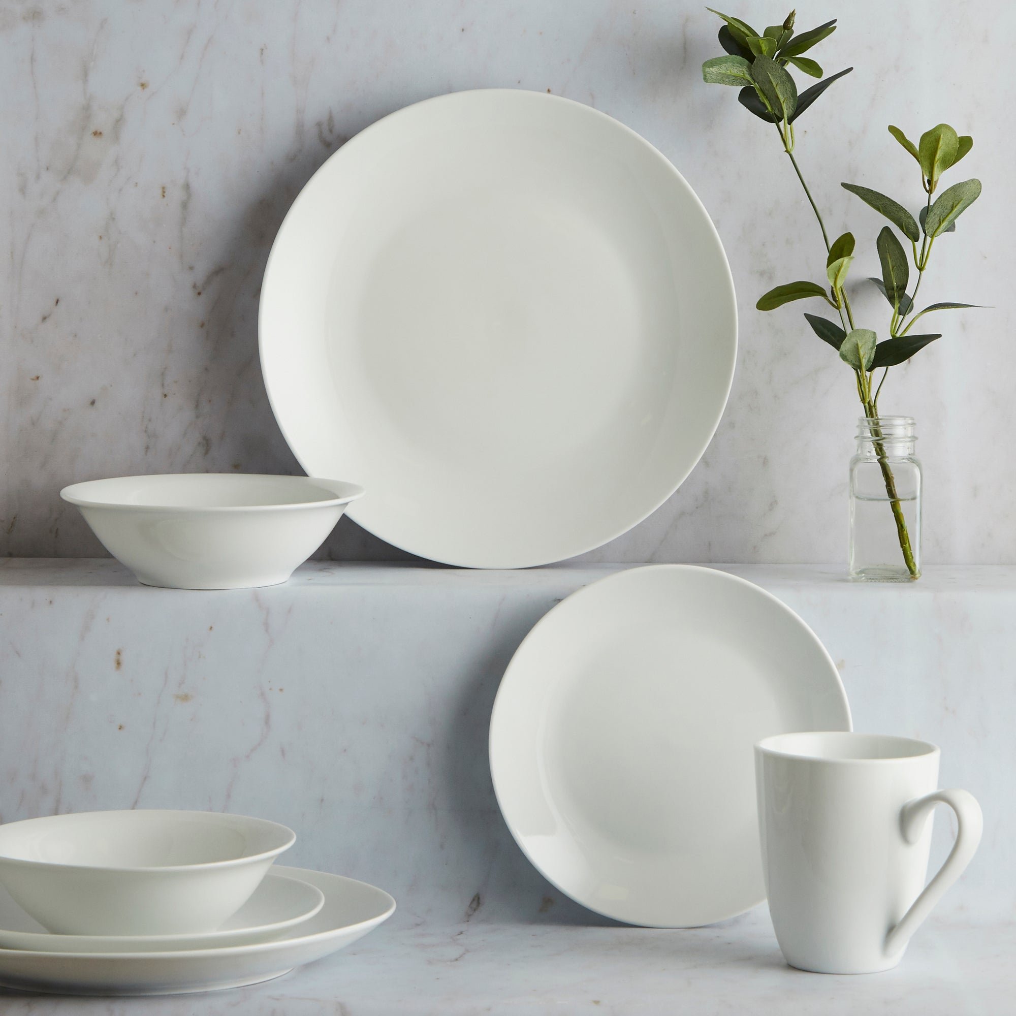 Purity Collection 16 Piece Dinner Set
