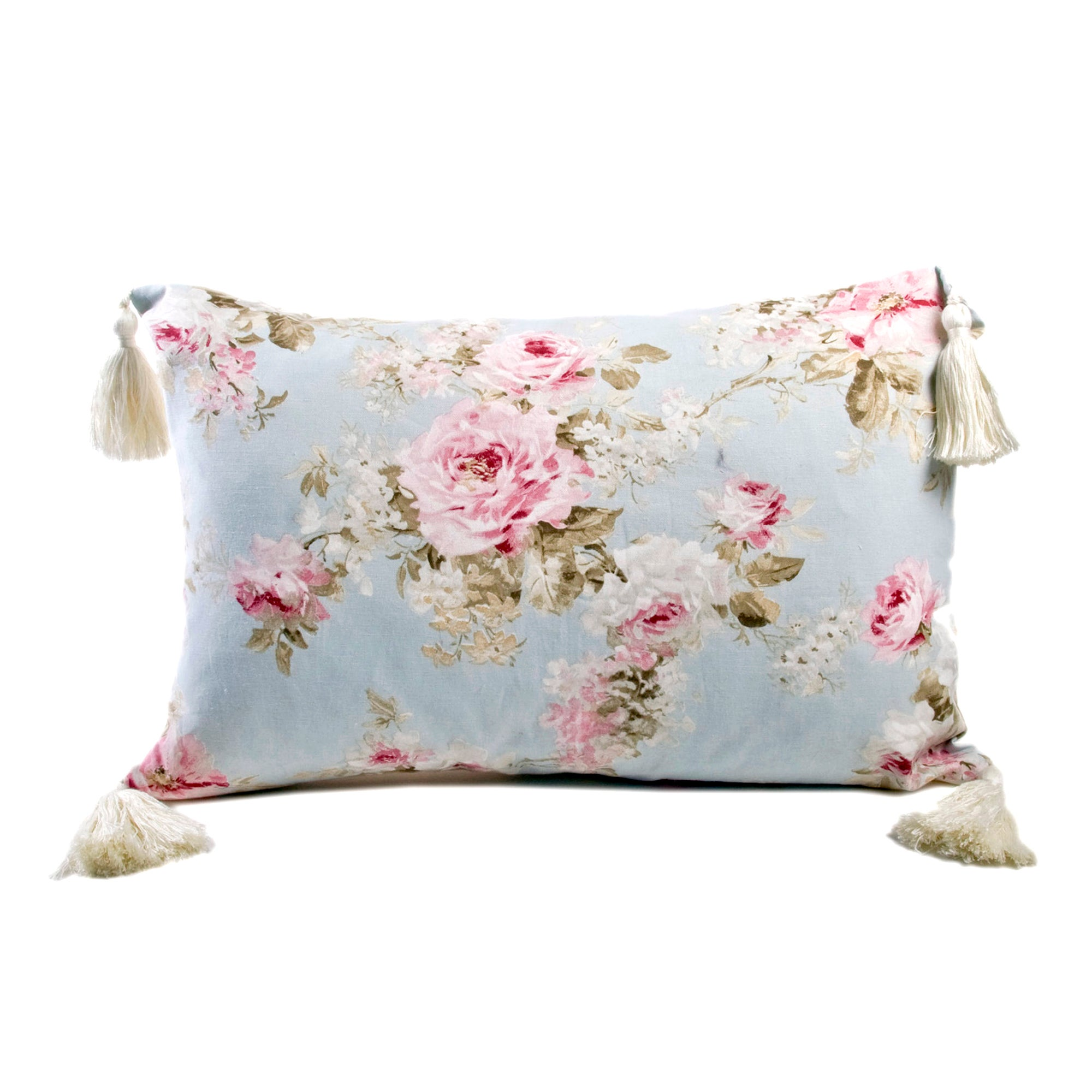 Blue Amelia Boudoir Cushion