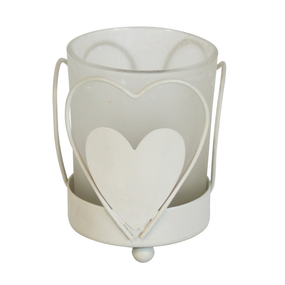 Classic Elegance Collection Frosted Glass Tea Light