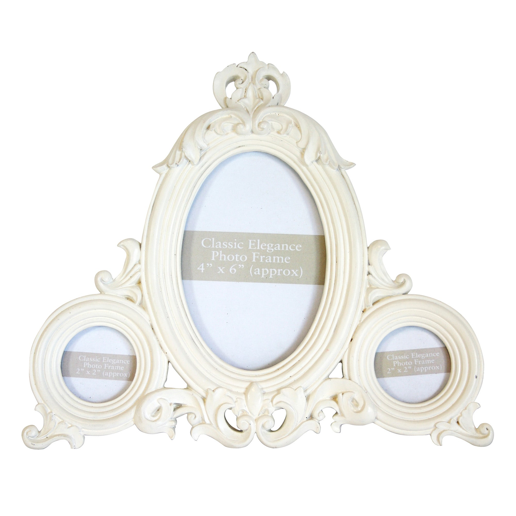 Classic Elegance Collection Triple Photo Frame