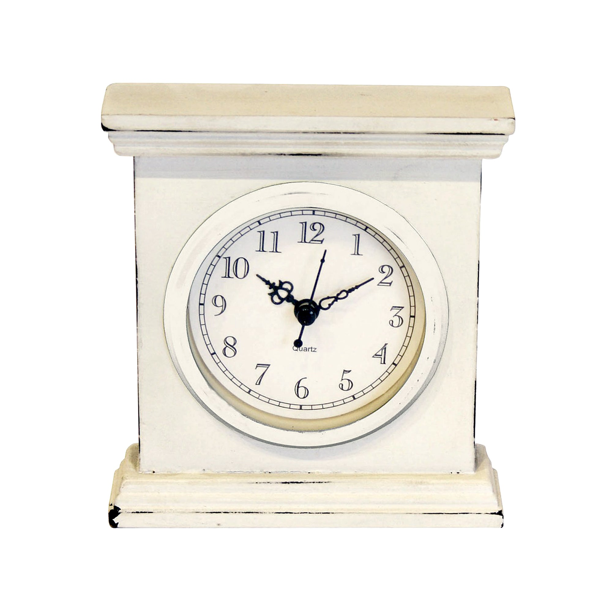 Classic Elegance Collection Rectangle Clock