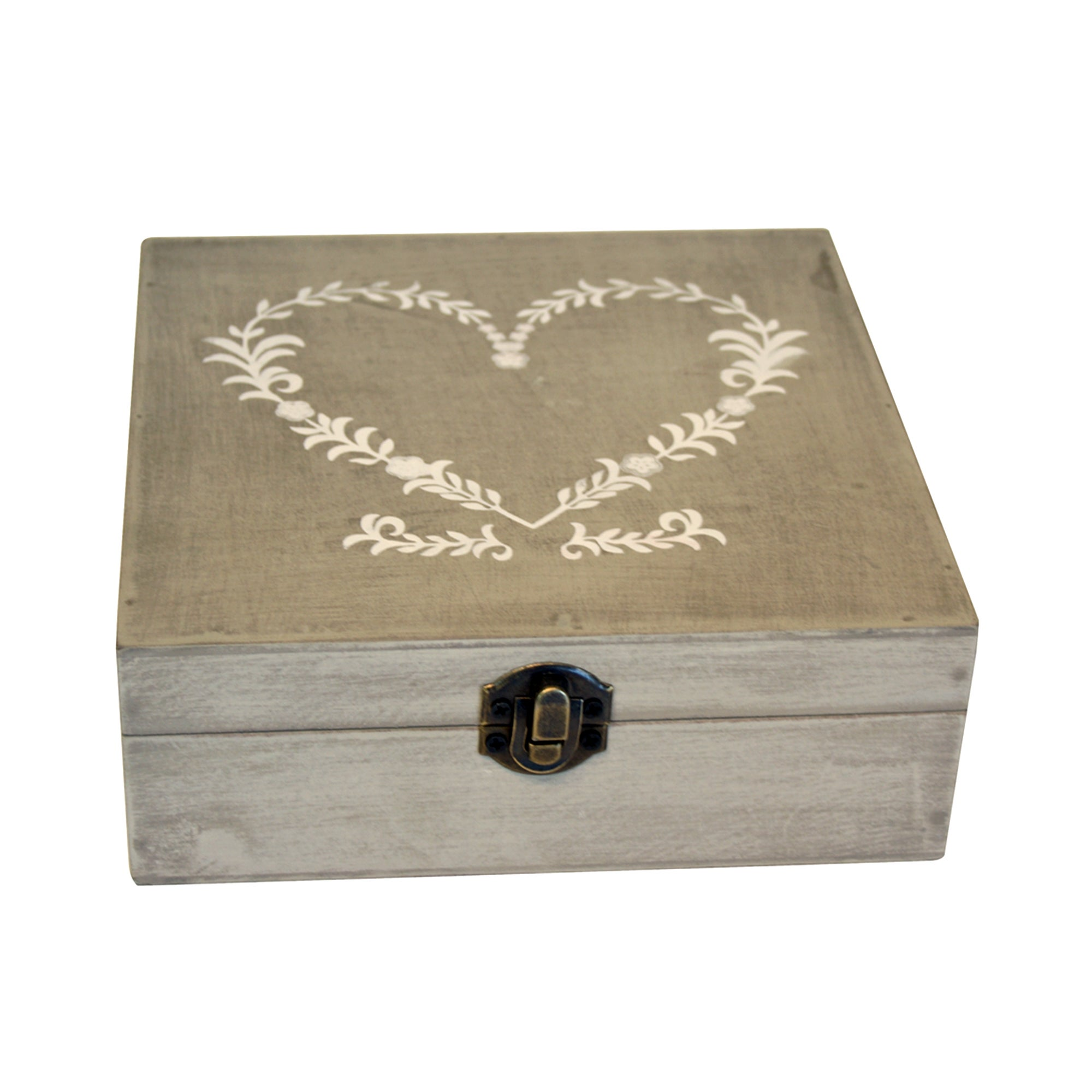 Classic Elegance Collection Heart Trinket Box