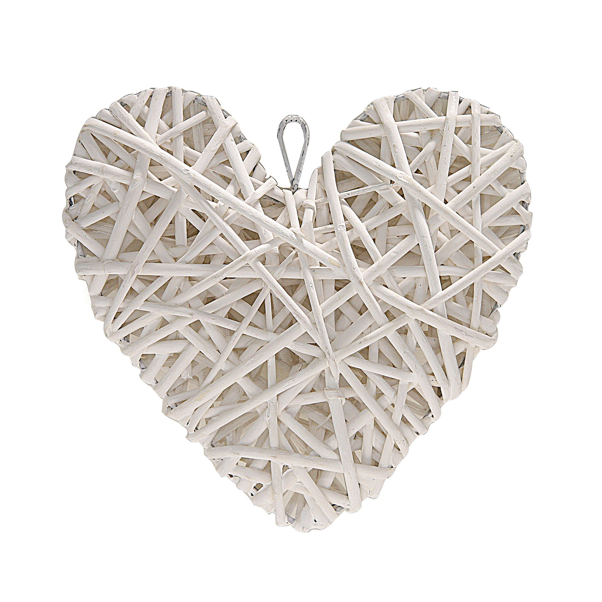 Classic Elegance Collection Wicker Hanging Heart