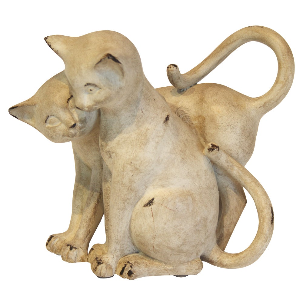 Plum Pudding Collection Two Cats Ornament