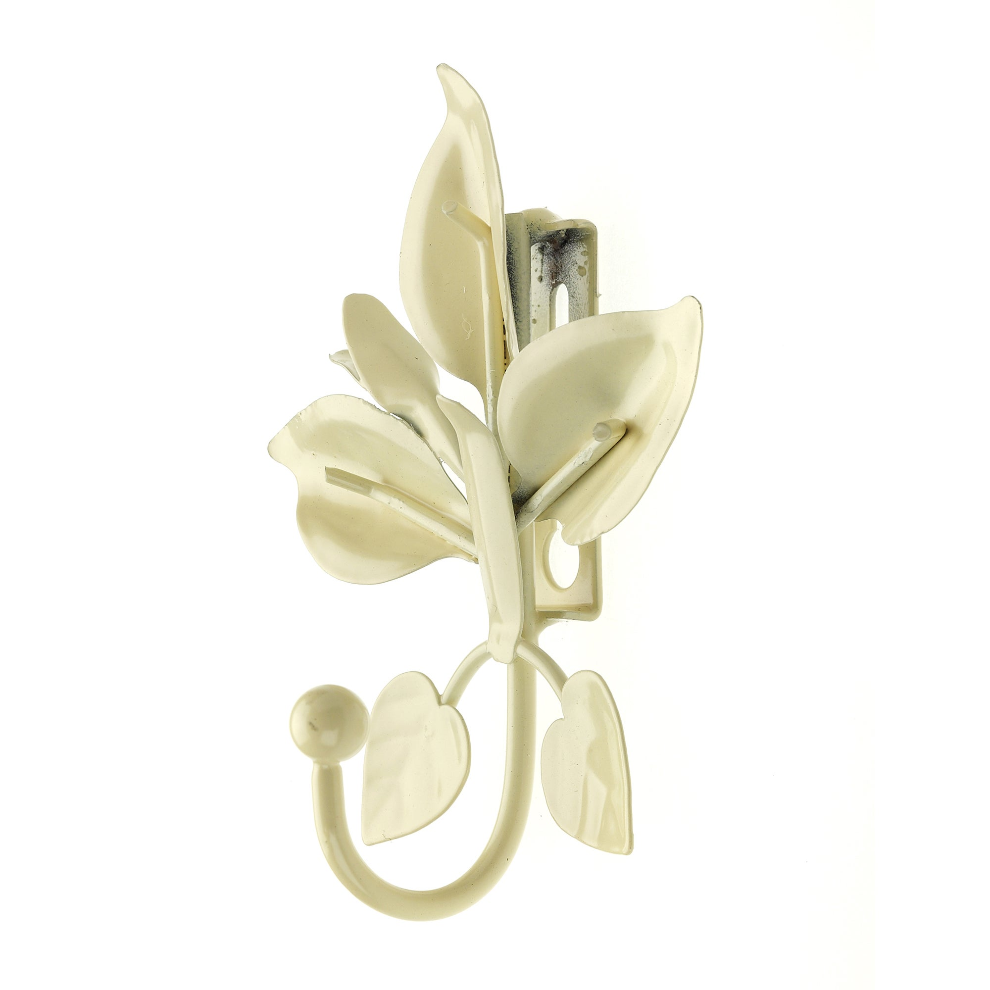 Vintage Collection Lily Flower Curtain Hook