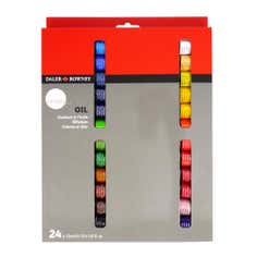 Daler Rowney Simply Set of 24 Oil Paints