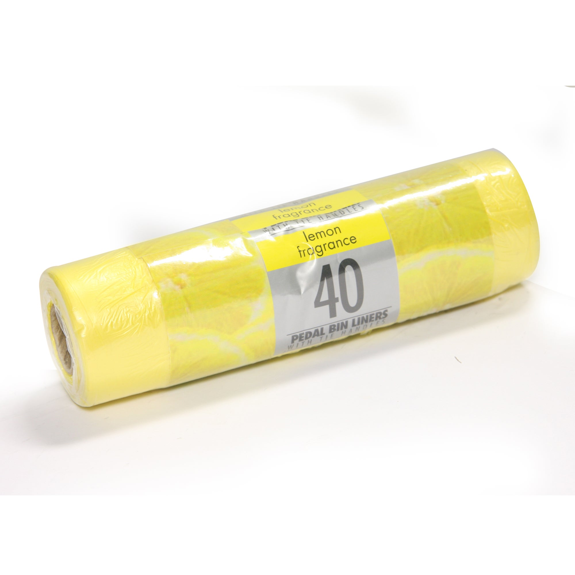 Pack of 40 Lemon Fragranced Bin Liners