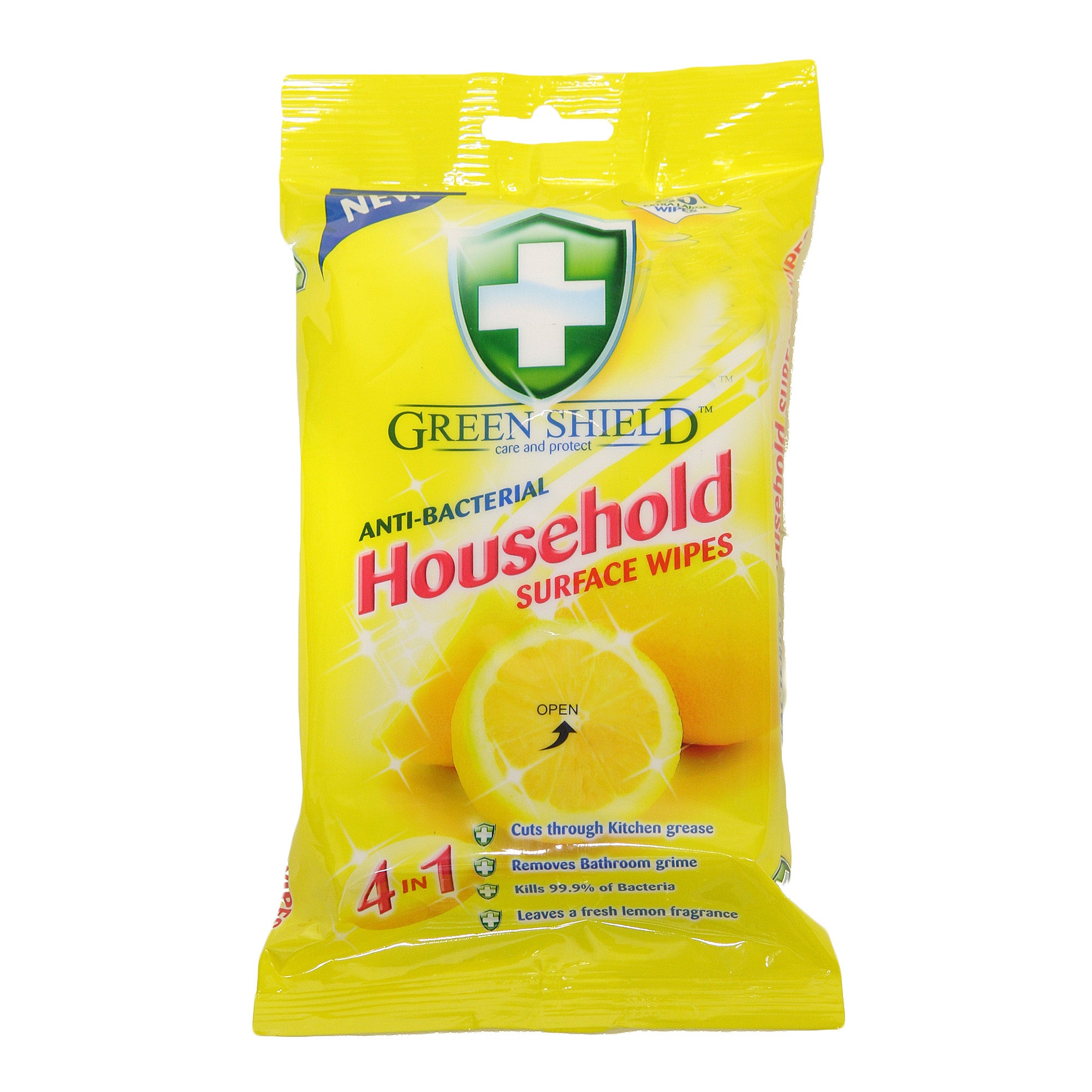 Anti Bacterial Household Surface Wipes