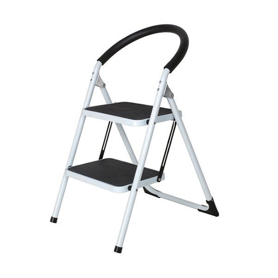 Utility Room 2 Step Ladder with Non Slip Handgrip