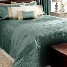 Teal Athens Collection Bedspread