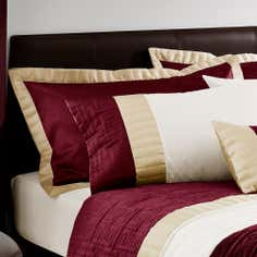 Red Athens Collection Oxford Pillowcase