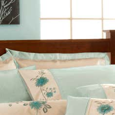 Duck Egg Ruby Collection Oxford Pillowcase