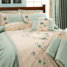 Duck Egg Ruby Collection Duvet Cover