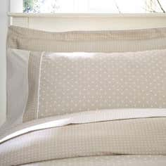 Dorma Mink Capri Collection Cuffed Pillowcase