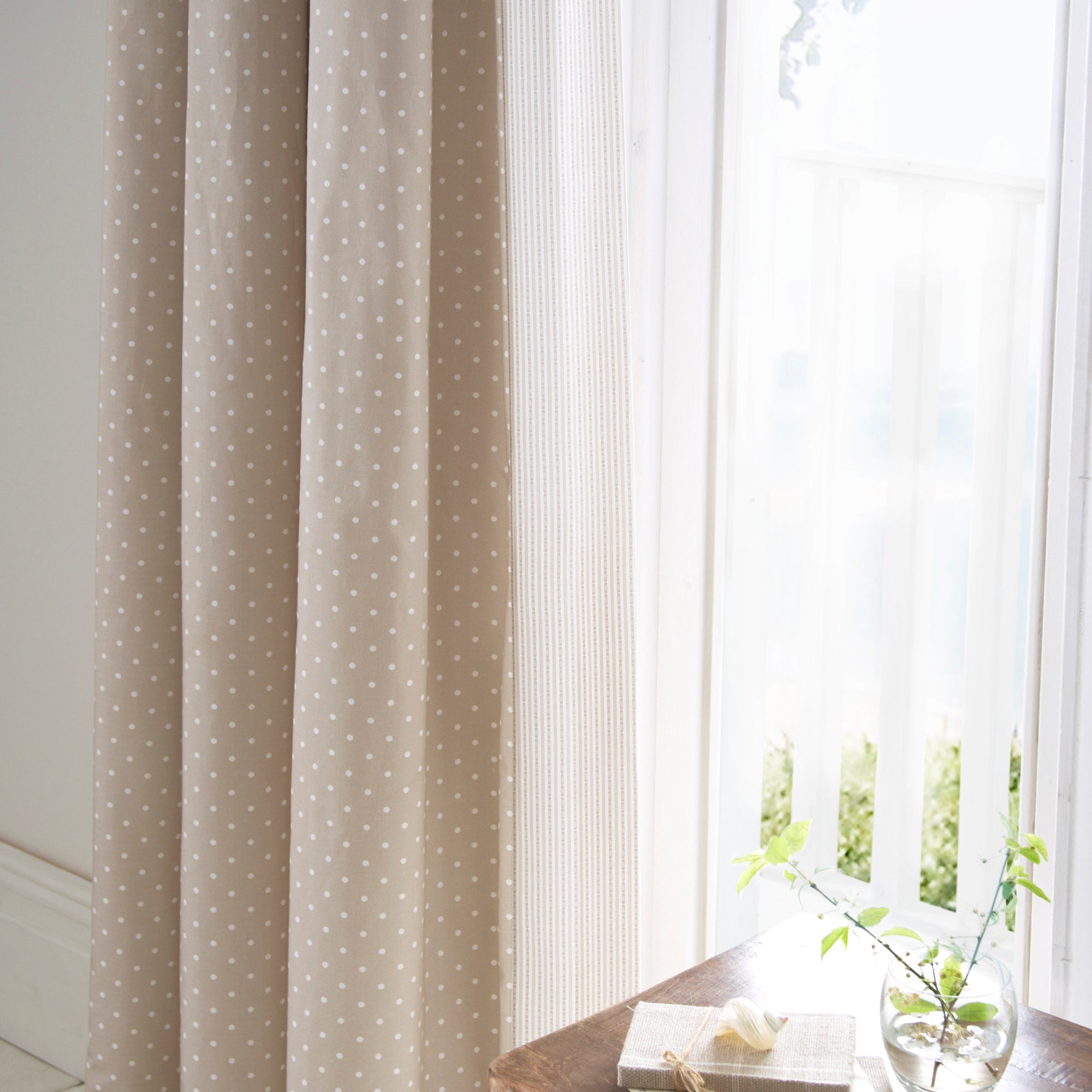 Dorma Mink Capri Collection Curtains