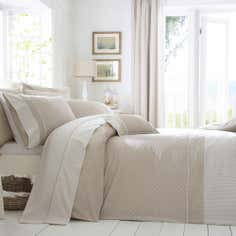 Dorma Mink Capri Collection Duvet Cover