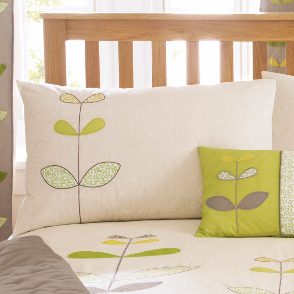 Green Naya Collection Housewife Pillowcase