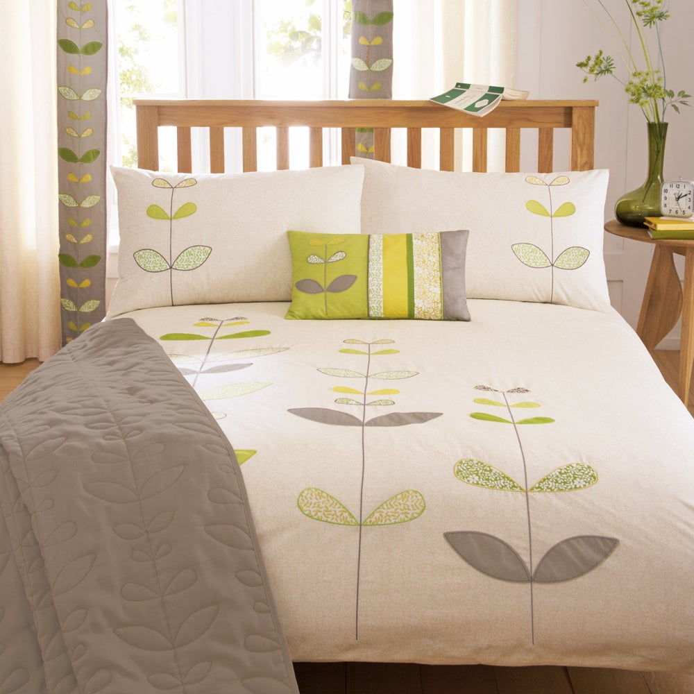 Green Naya Collection Duvet Cover Set