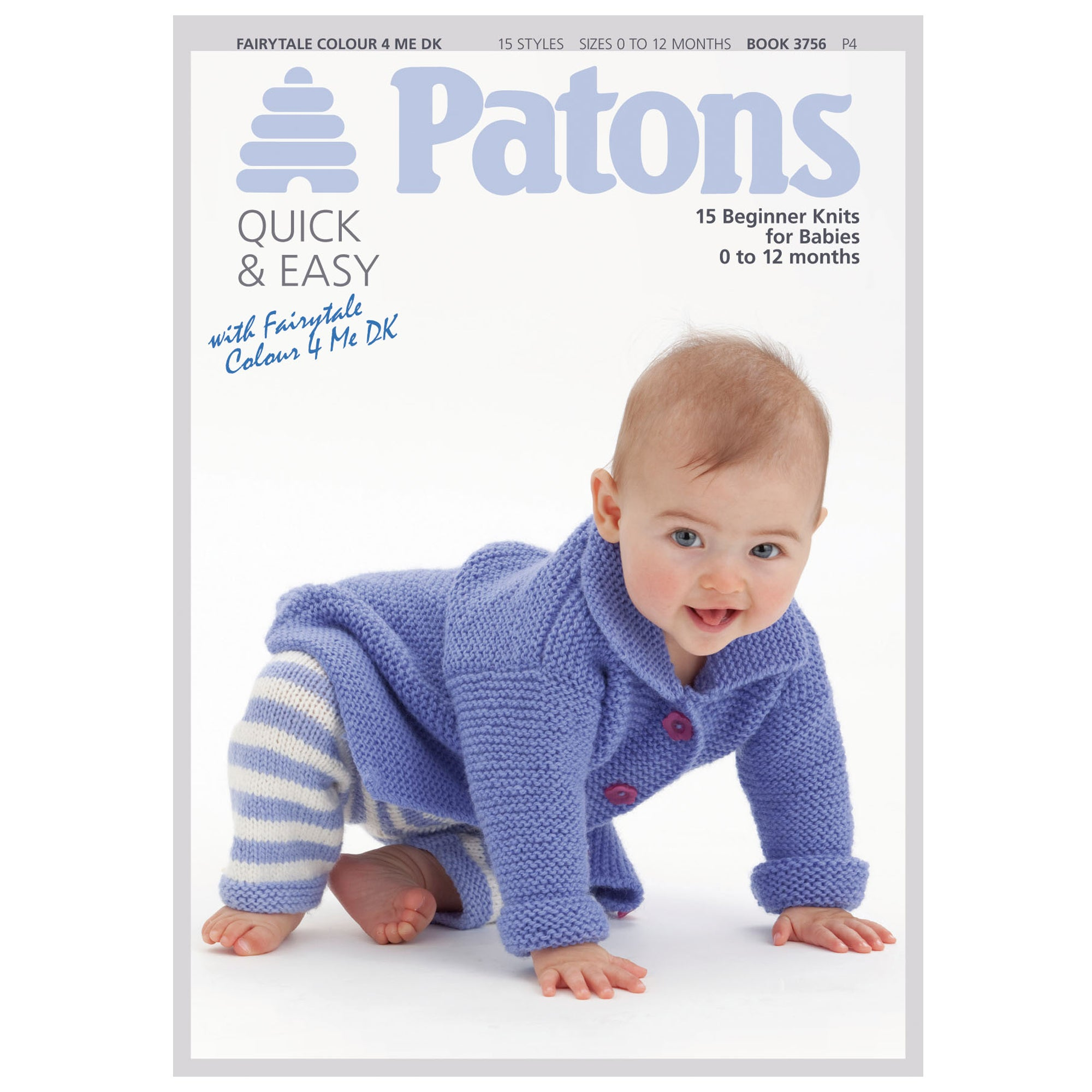 Patons Beginner Knits for Babies Book