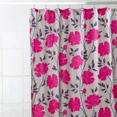 Jewel Floral Shower Curtain