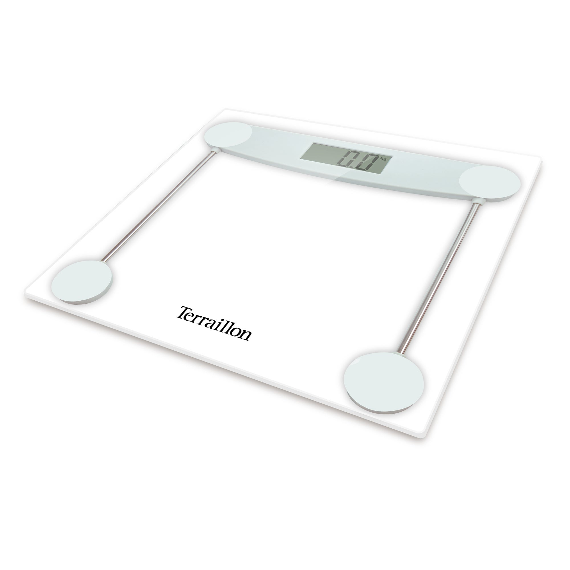 Hanson HX5000 150kg Clear Glass Electronic Bathroom Scales