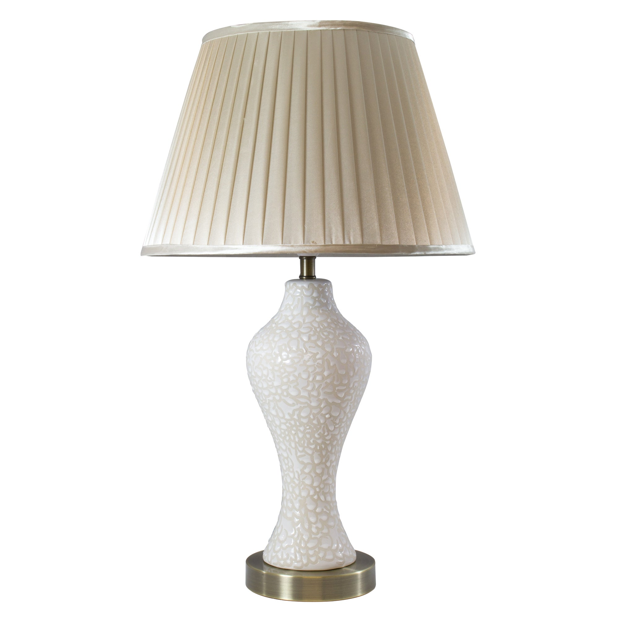 Regal Ceramic Waisted Table Lamp