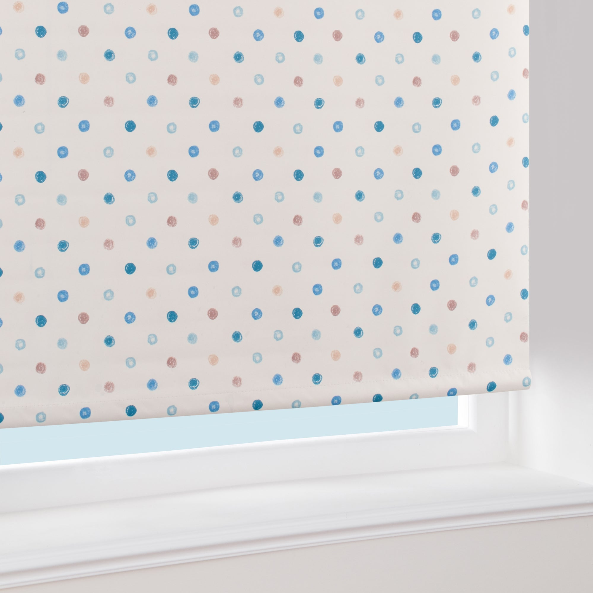 Country Spot Blackout Roller Blind