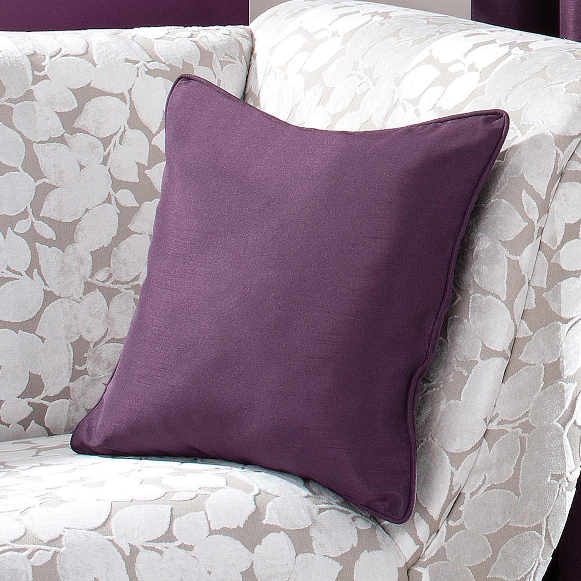 Blackcurrant Sorrento Collection Cushion