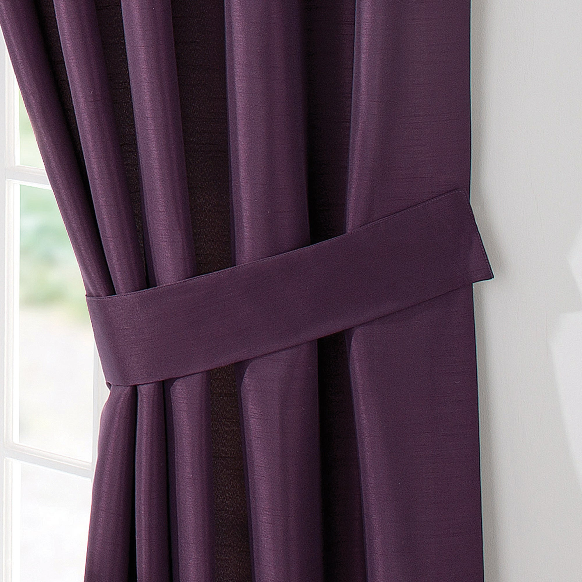 Blackcurrant Sorrento Collection Tiebacks