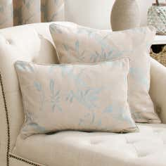 Duck Egg Songbird Collection Boudoir Cushion
