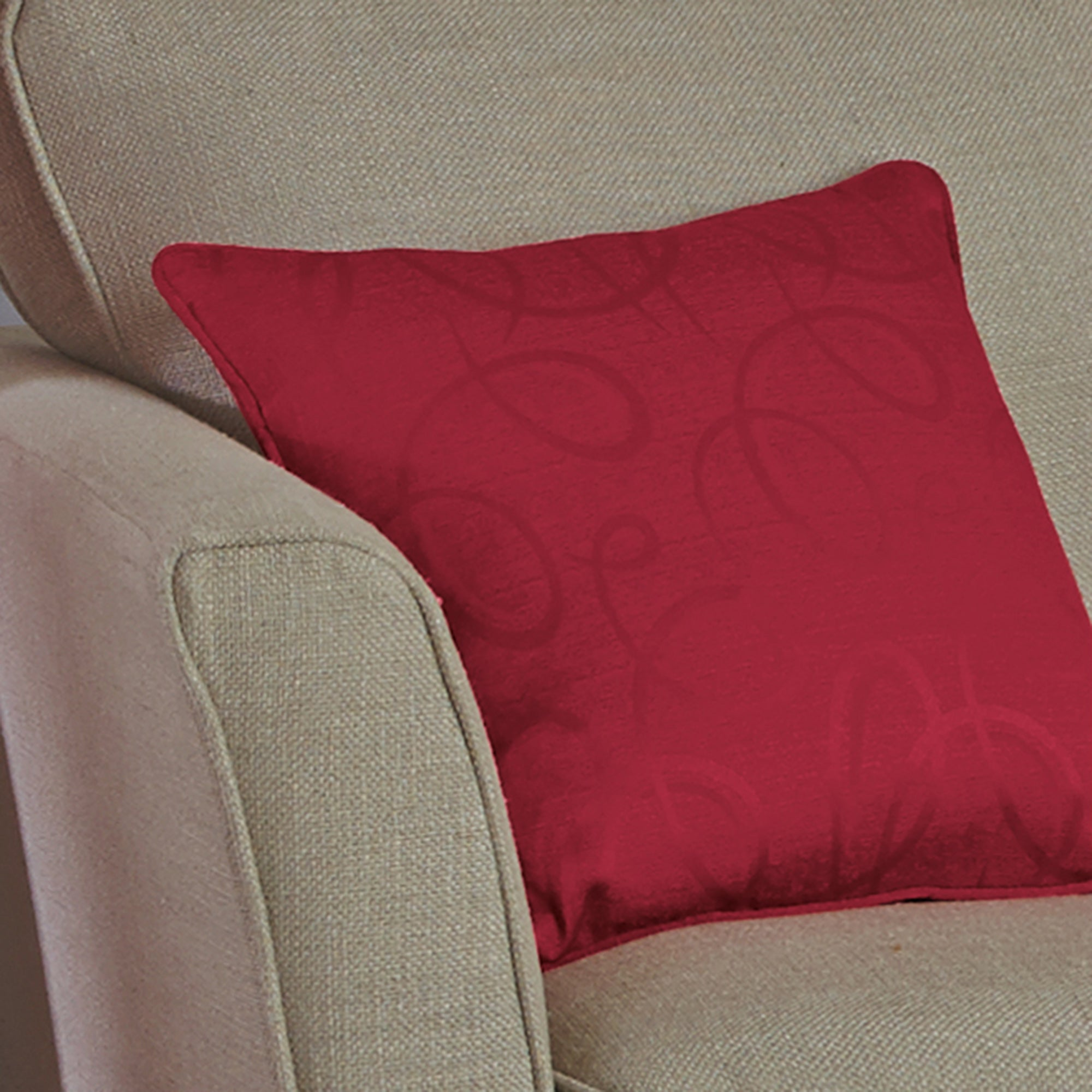 Claret Toledo Collection Cushion