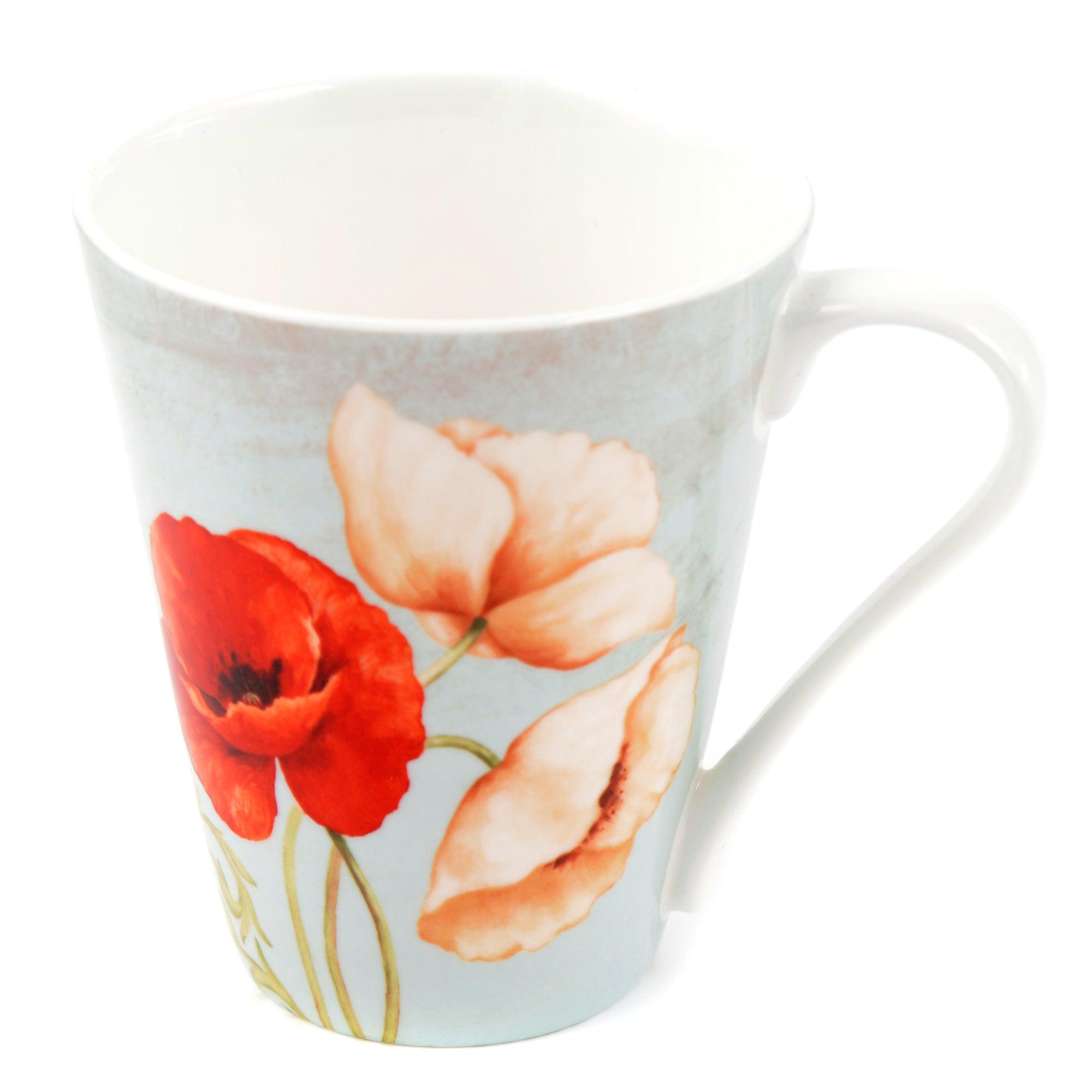 Poppy Floral Mug