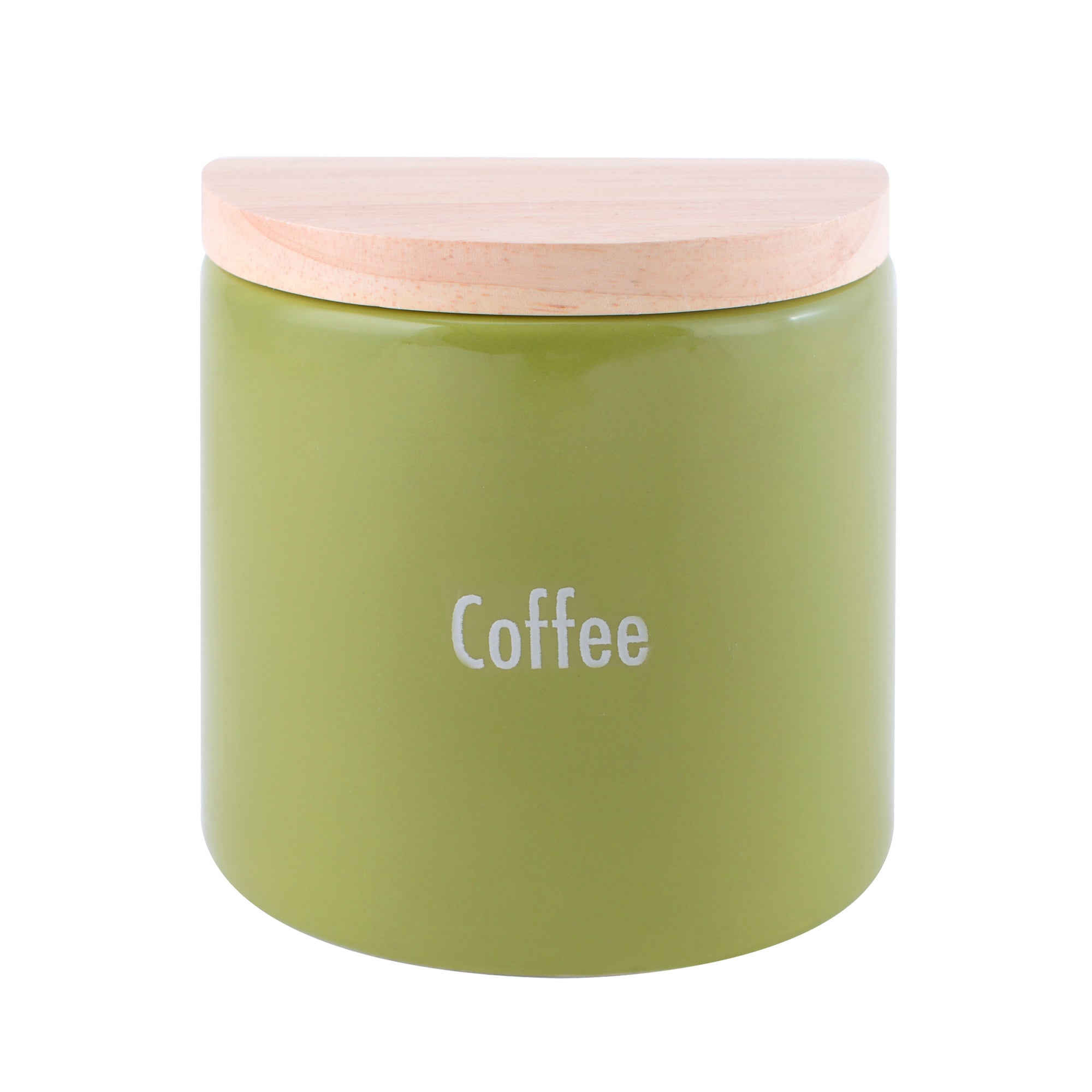 Modern Country Leaf Collection Coffee Jar