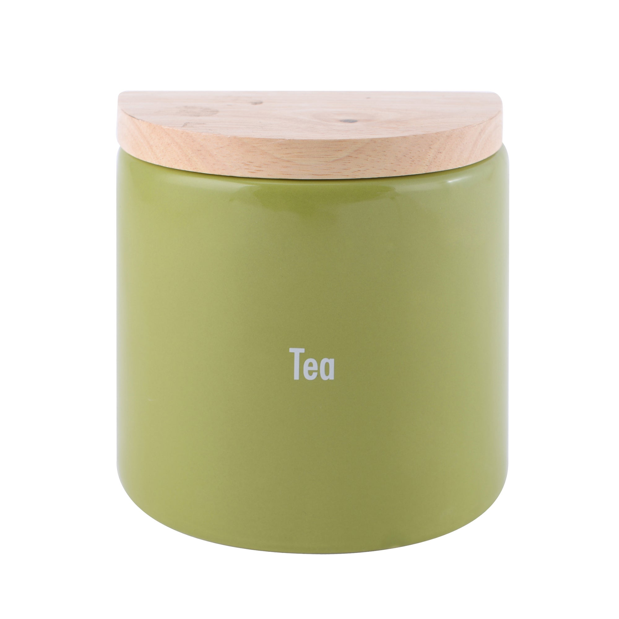 Modern Country Leaf Collection Tea Jar