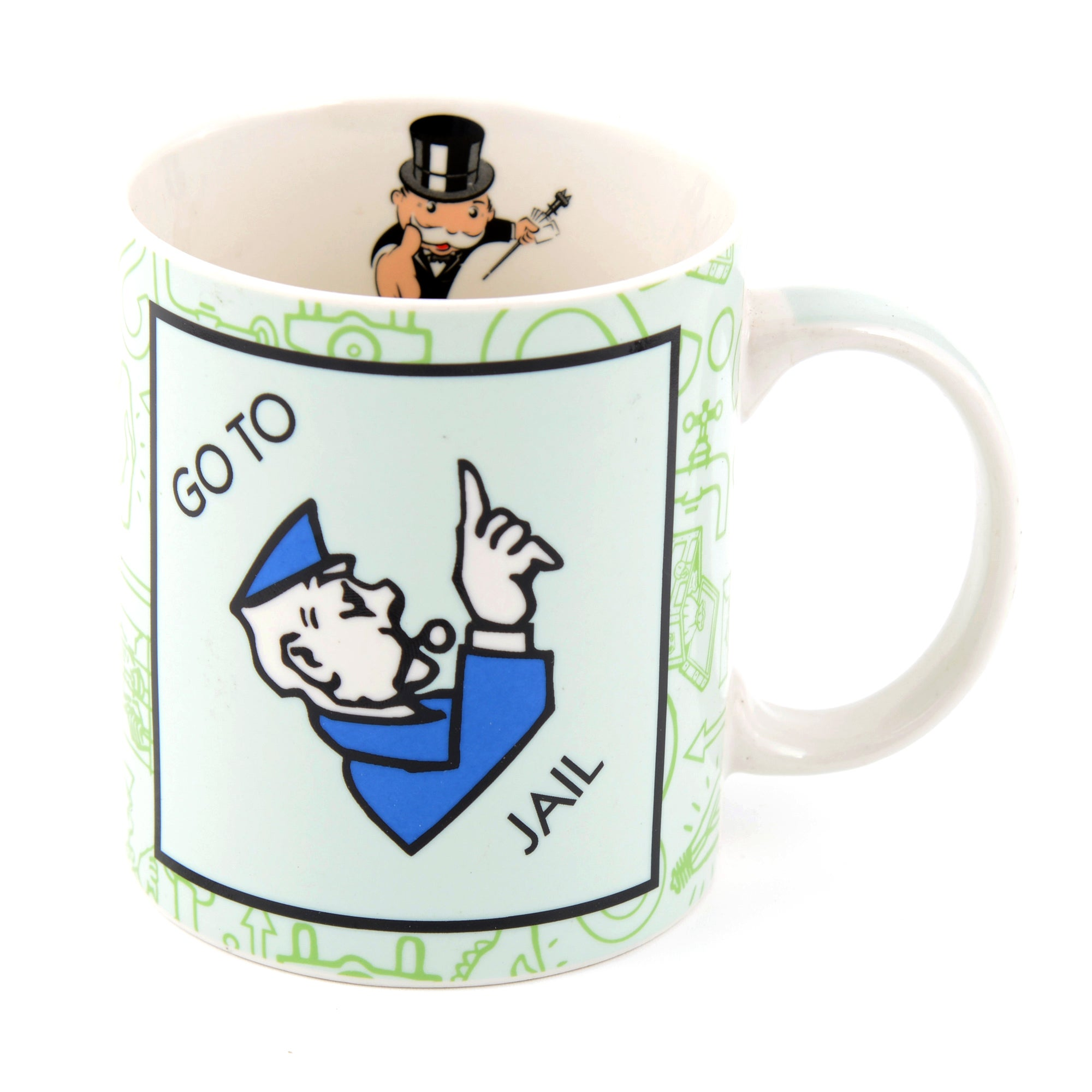 Monopoly Go To Jail Mug