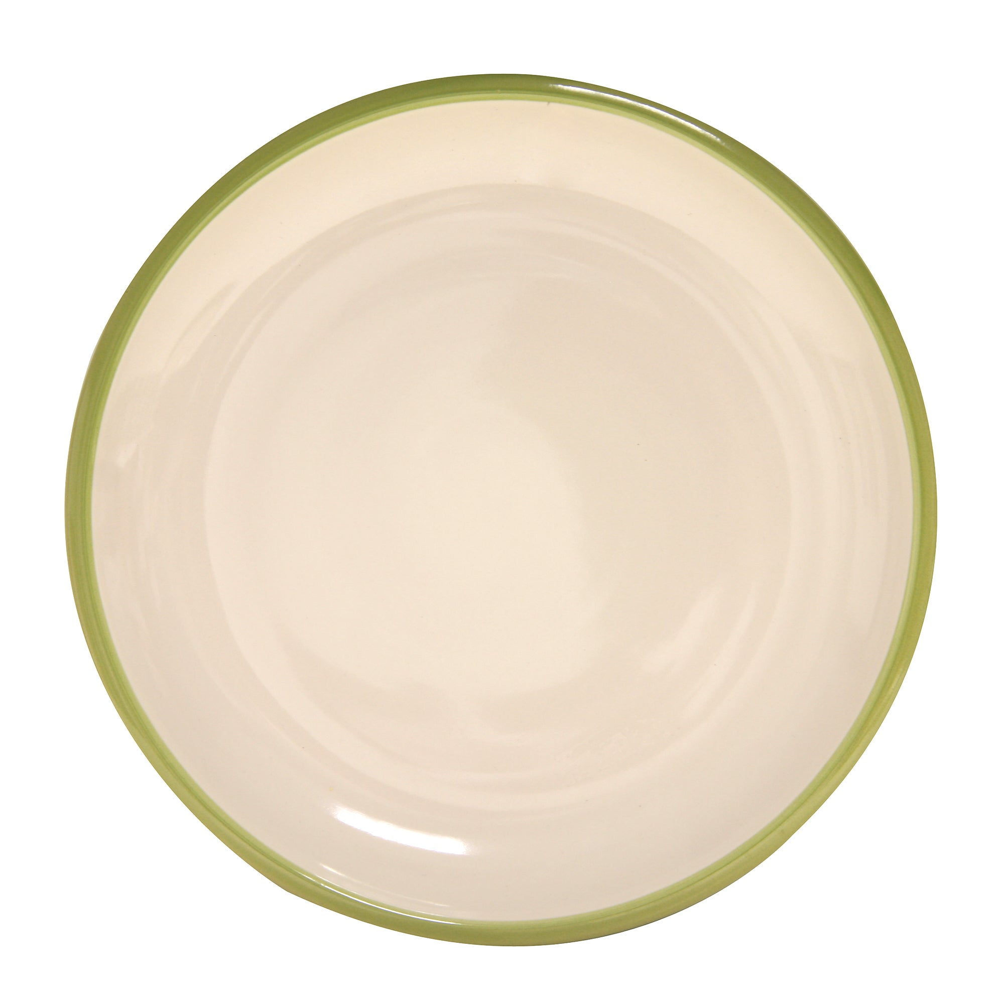 Modern Country Collection Wide Rim Dinner Plate
