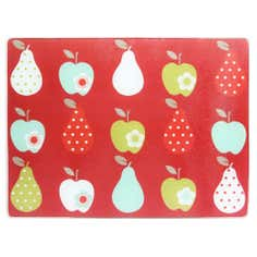 Fruits Collection Red Glass Worktop Saver