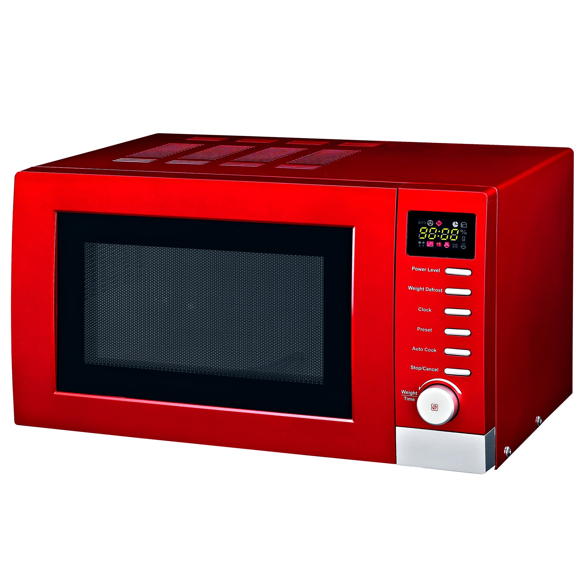 Red Spectrum Collection Digital Microwave