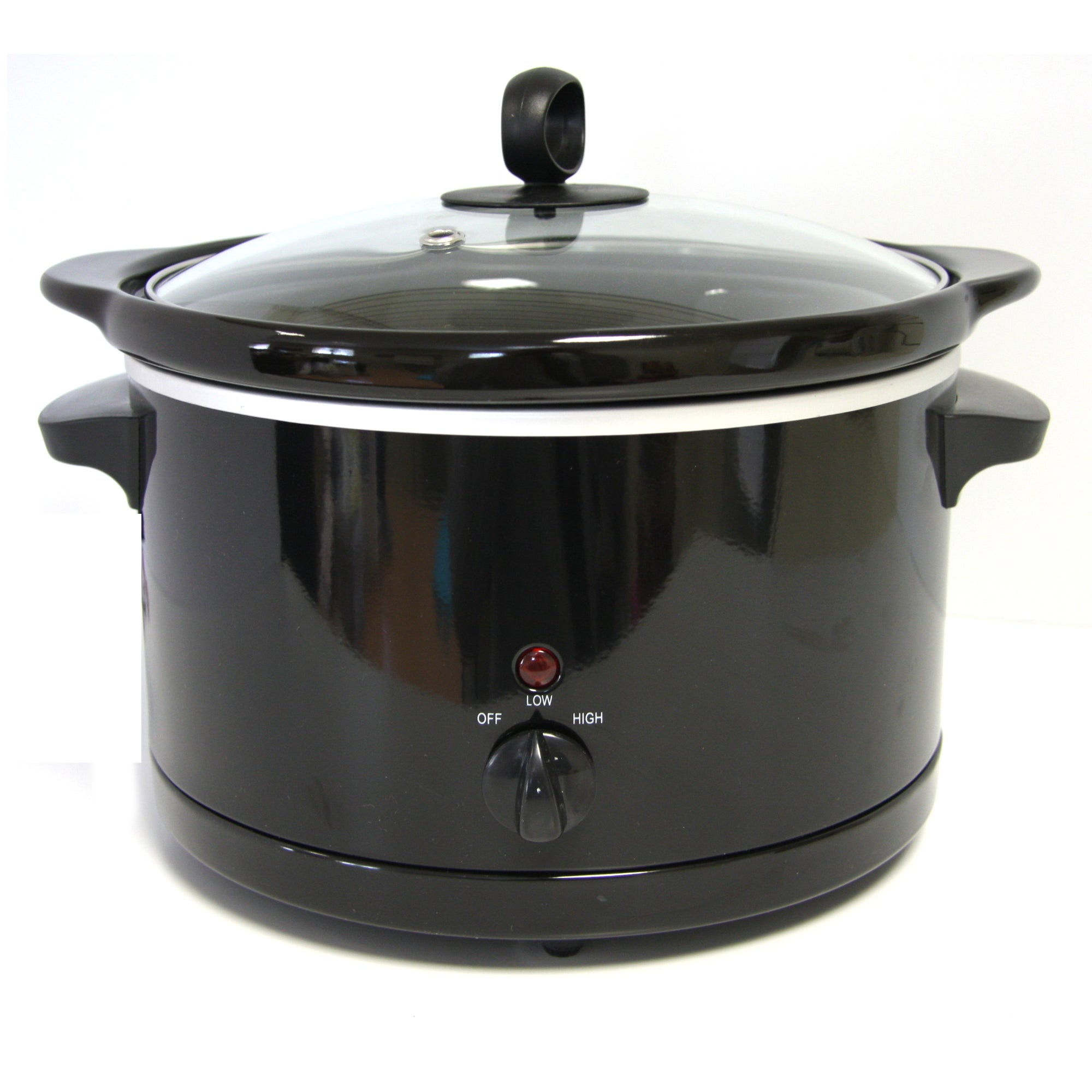 Black Slow Cooker