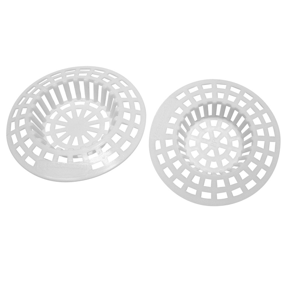 Pack of 2 Plastic Sink Strainers