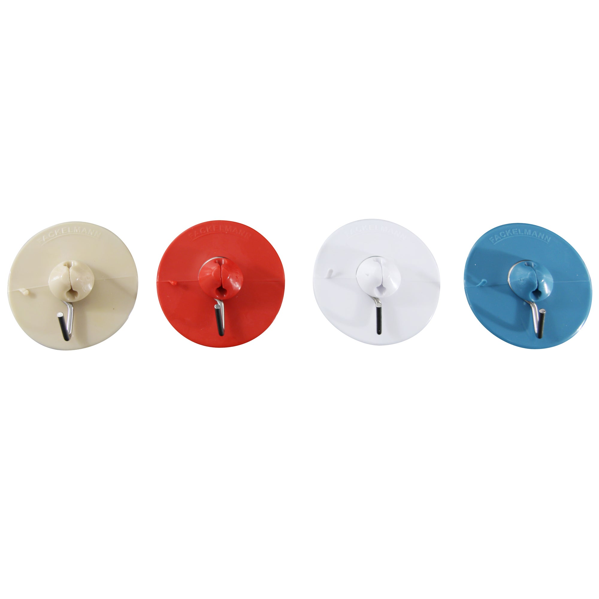 Pack of 4 Suction Hooks