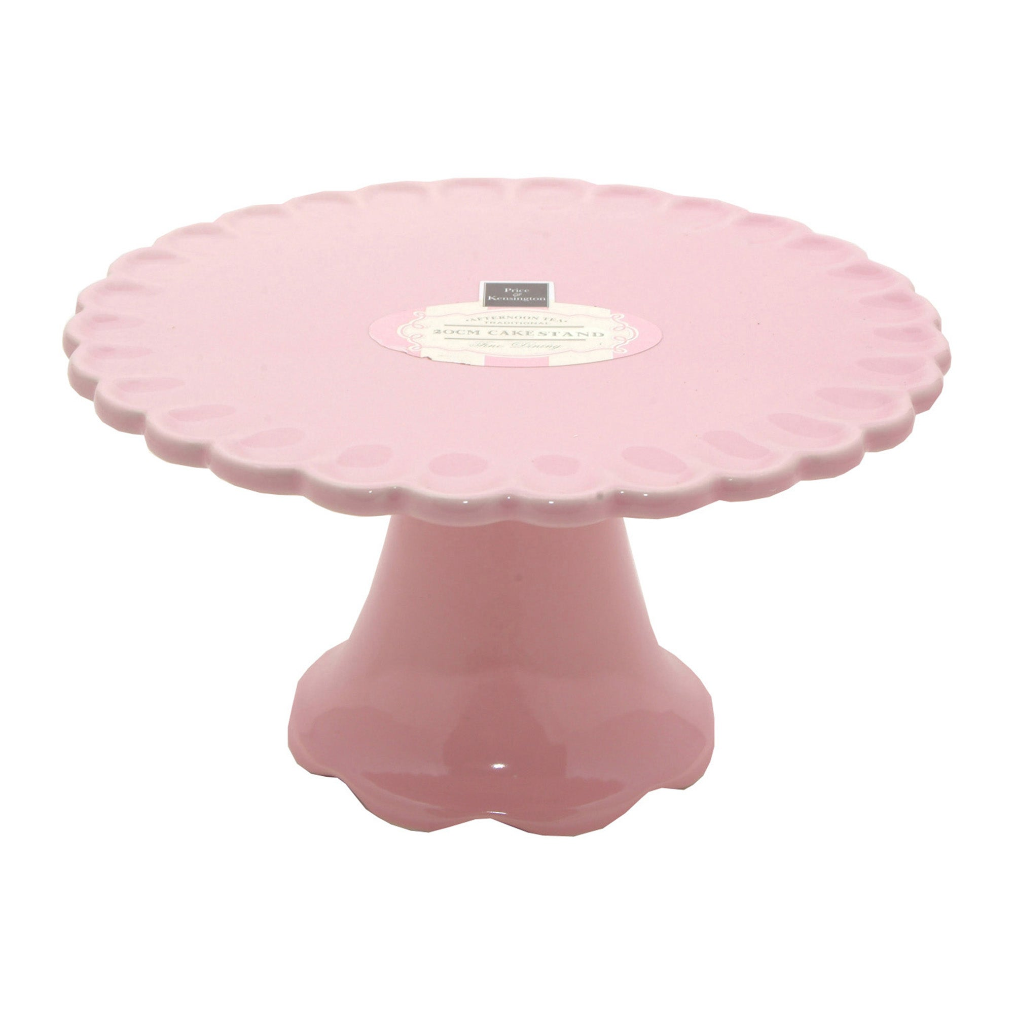 Rayware Pink Afternoon Tea Collection Footed Cake Stand