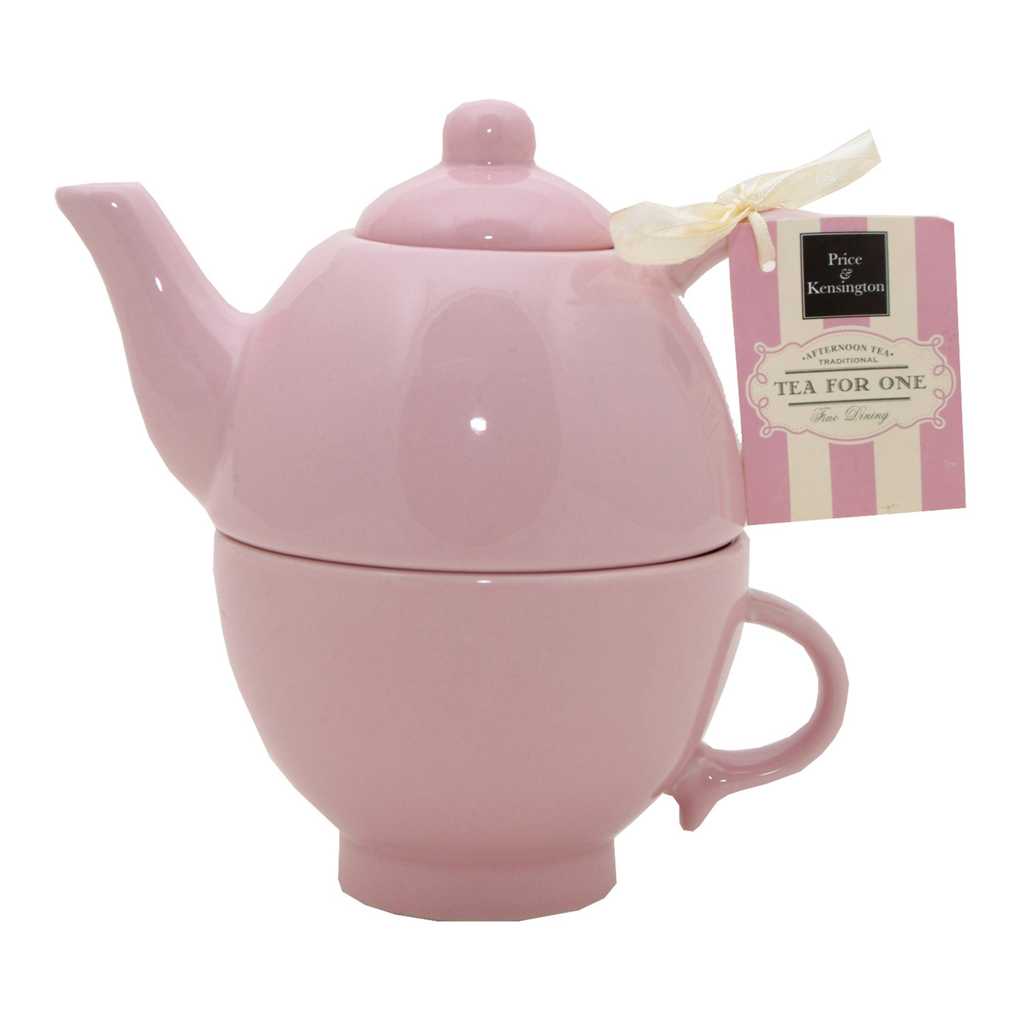 Rayware Pink Afternoon Tea Collection Tea For One