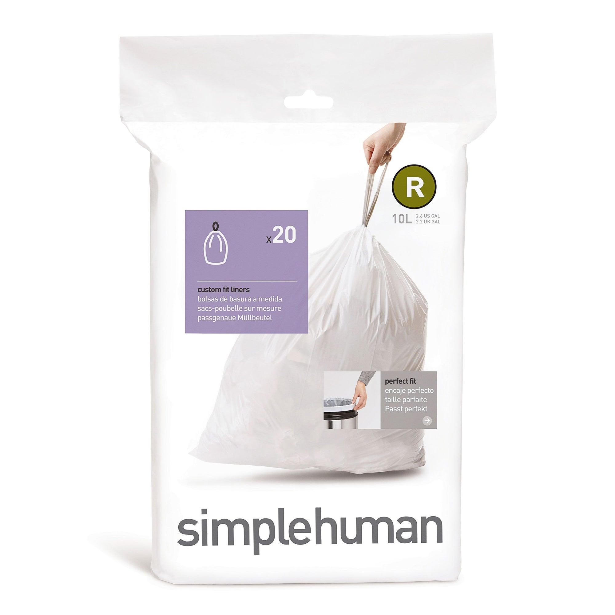 simplehuman 10 Litre Bin Liners