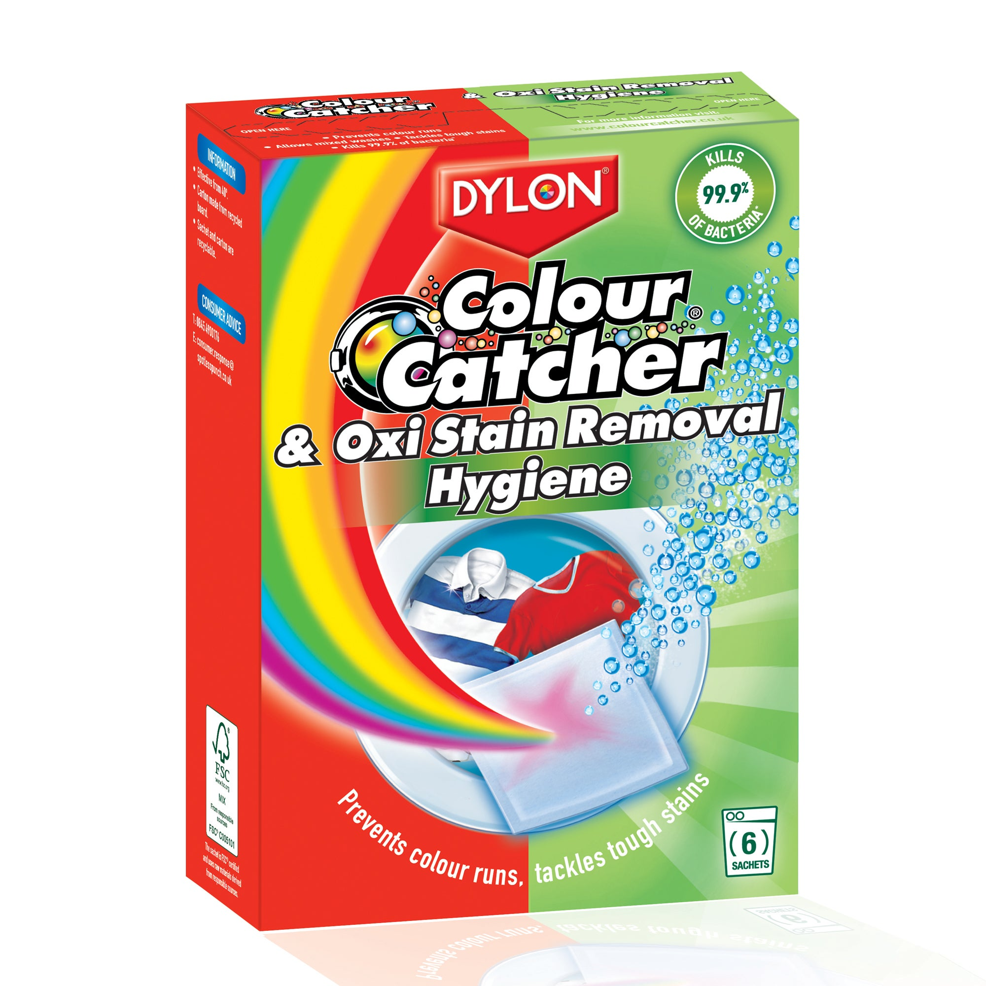 Dylon Colour Catcher and Oxi Hygiene