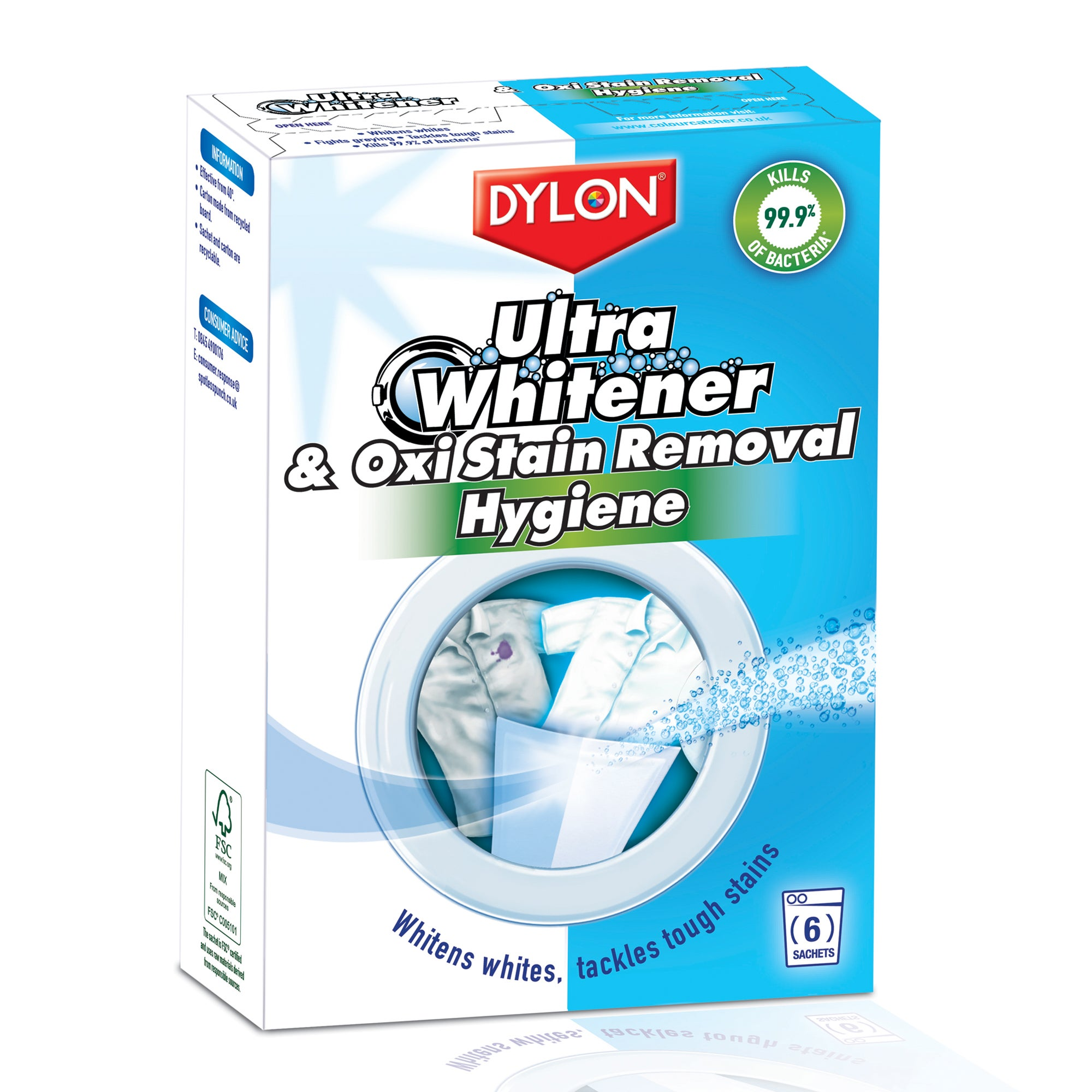 Dylon Ultra Whitener and Oxi Hygiene