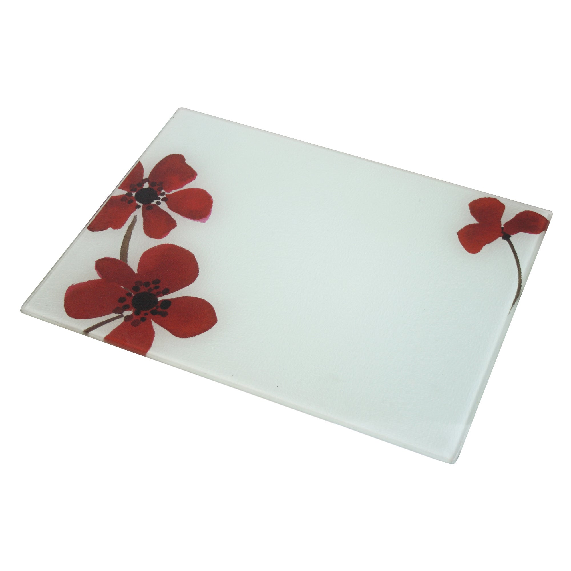 Red Painted Poppy Collection Work Top Saver