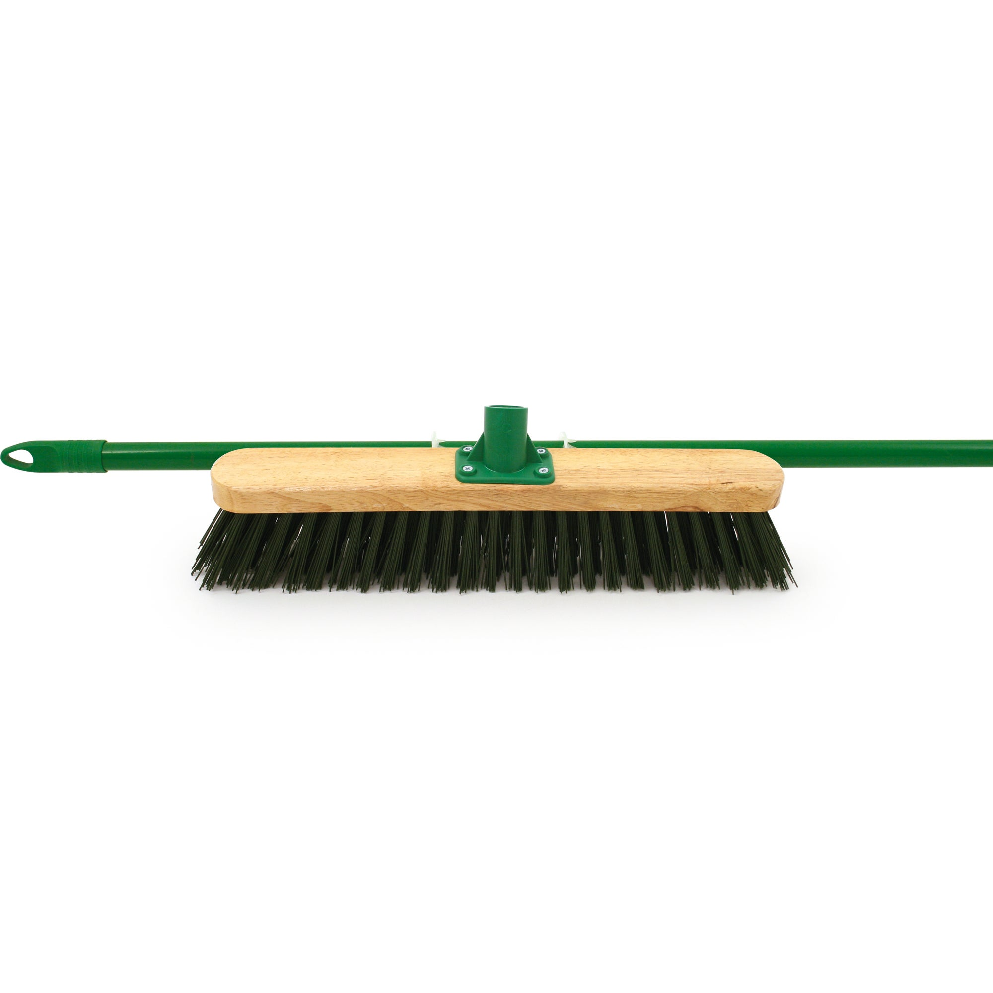 Varnished PVC Outdoor Broom